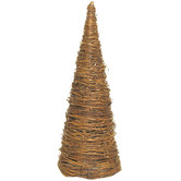 Natural Grapevine Topiary Cone